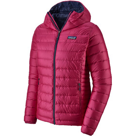 Patagonia Down Sweater Capuchon Jas Dames, craft pink/classic navy